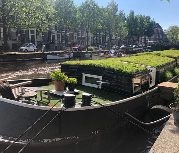 Houseboat Trijntje Amsterdam Houseboat rental Amsterdam