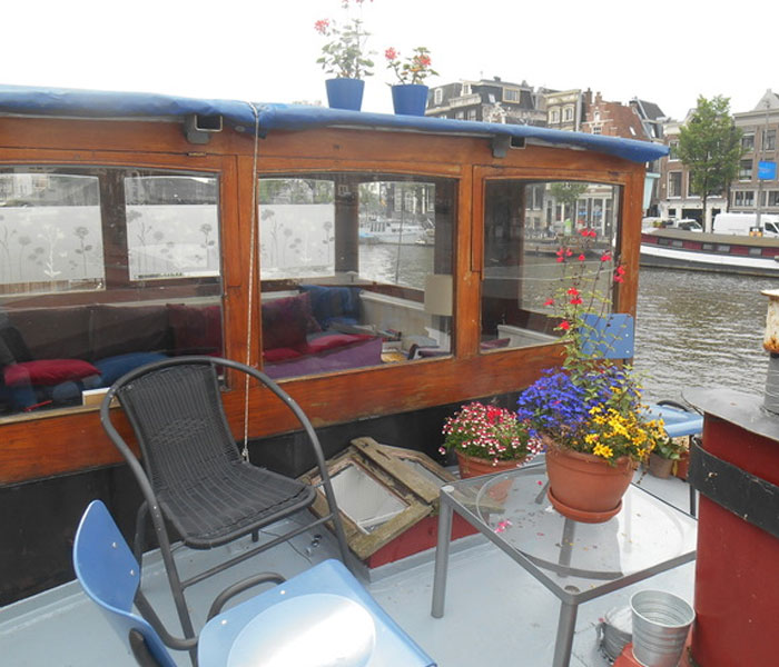 Waterloo Market Houseboat Amsterdam