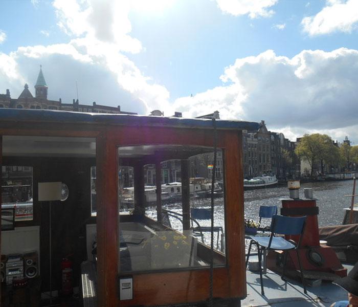Waterloo Market Houseboat Amsterdam