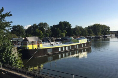 The Island Houseboat rental Amsterdam