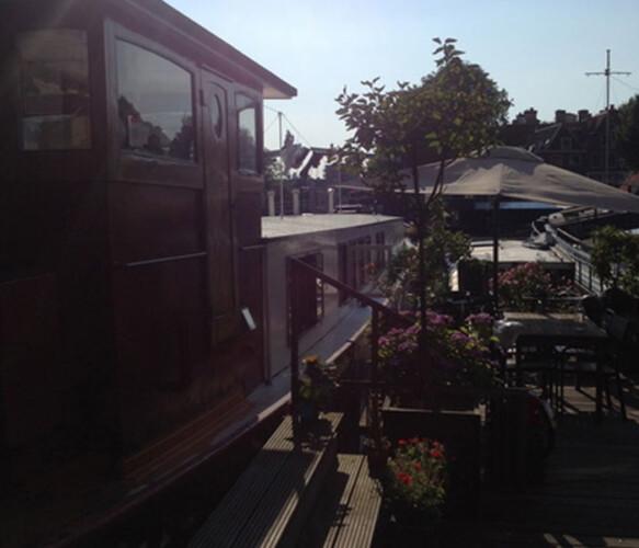 Johanna Cornelia houseboat rental Amsterdam