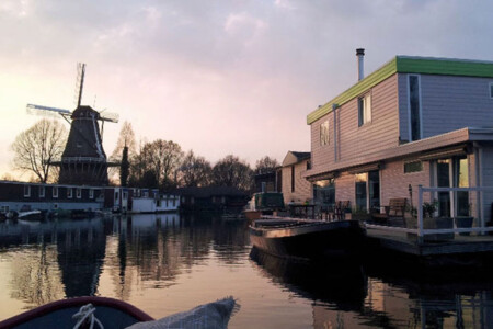 Minties Houseboat Bed and Breakfast rental Amsterdam