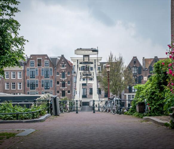 Westerdok 69 houseboat Amsterdam