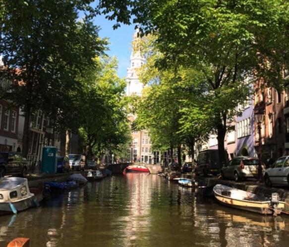 Hercules Seghers houseboat Amsterdam