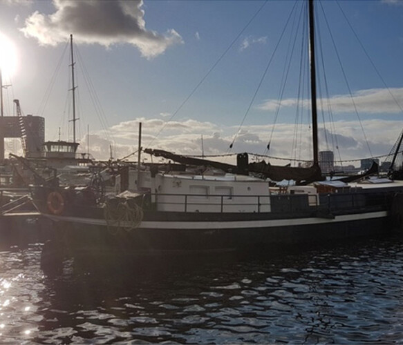 Authentic Sustainable Sailing Ship